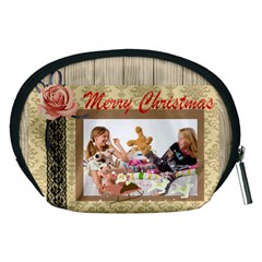 Happy Holiday By Betty   Accessory Pouch (medium)   Me0w22wh0a5j   Www Artscow Com Back