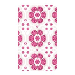 Sweety Pink Floral Pattern Memory Card Reader (rectangular) by dflcprints