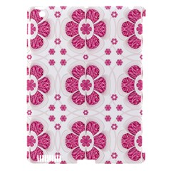 Sweety Pink Floral Pattern Apple Ipad 3/4 Hardshell Case (compatible With Smart Cover) by dflcprints