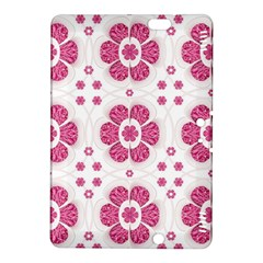 Sweety Pink Floral Pattern Kindle Fire HDX 8.9  Hardshell Case by dflcprints