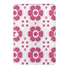 Sweety Pink Floral Pattern Samsung Galaxy Tab Pro 12 2 Hardshell Case by dflcprints