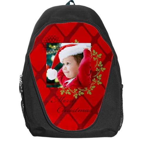 Xmas By Xmas   Backpack Bag   M32em5ob23l9   Www Artscow Com Front