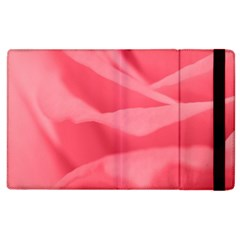 Pink Silk Effect  Apple Ipad 3/4 Flip Case by Colorfulart23