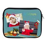merry christmas - Apple iPad 2/3/4 Zipper Case