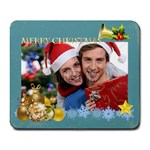merry christmas - Collage Mousepad