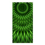 Green Lagoon Shower Curtain 36  x 72  (Stall)
