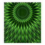 Green Lagoon Shower Curtain 66  x 72  (Large)