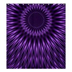 Lilac Lagoon Shower Curtain 66  x 72  (Large)