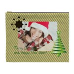 merry christmas - Cosmetic Bag (XL)
