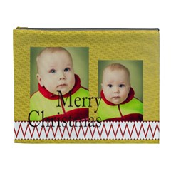 Merry Christmas By Xmas   Cosmetic Bag (xl)   Gzuv7nihh11r   Www Artscow Com Front