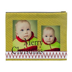 Merry Christmas By Xmas   Cosmetic Bag (xl)   Gzuv7nihh11r   Www Artscow Com Back
