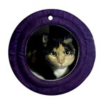 Gracie Ornament - Round Ornament (Two Sides)