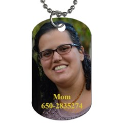 By Naama Hunny Stav   Dog Tag (two Sides)   Qgtivqniajrp   Www Artscow Com Front