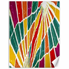 Multicolored Vibrations Canvas 18  X 24  (unframed) by dflcprints