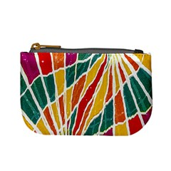 Multicolored Vibrations Coin Change Purse by dflcprints
