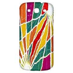 Multicolored Vibrations Samsung Galaxy S3 S Iii Classic Hardshell Back Case by dflcprints