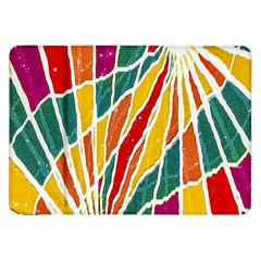 Multicolored Vibrations Samsung Galaxy Tab 8 9  P7300 Flip Case by dflcprints