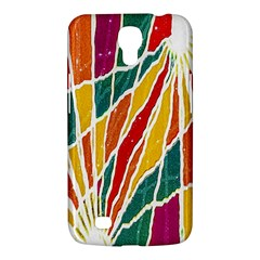 Multicolored Vibrations Samsung Galaxy Mega 6 3  I9200 Hardshell Case by dflcprints