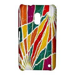 Multicolored Vibrations Nokia Lumia 620 Hardshell Case by dflcprints
