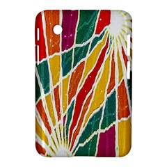 Multicolored Vibrations Samsung Galaxy Tab 2 (7 ) P3100 Hardshell Case  by dflcprints