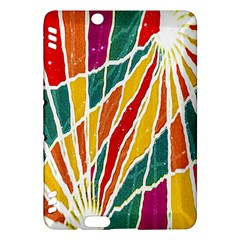 Multicolored Vibrations Kindle Fire Hdx 7  Hardshell Case by dflcprints