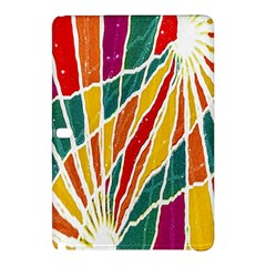 Multicolored Vibrations Samsung Galaxy Tab Pro 12 2 Hardshell Case by dflcprints
