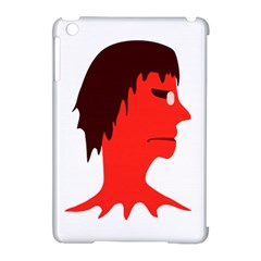 Monster With Men Head Illustration Apple Ipad Mini Hardshell Case (compatible With Smart Cover) by dflcprints