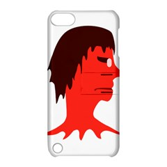 Monster With Men Head Illustration Apple Ipod Touch 5 Hardshell Case With Stand by dflcprints