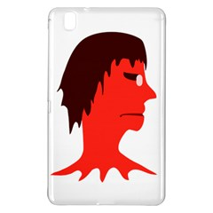 Monster With Men Head Illustration Samsung Galaxy Tab Pro 8 4 Hardshell Case by dflcprints
