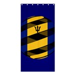 Barbados Shower Curtain 36  x 72  (Stall)