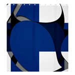 Finland Shower Curtain 66  x 72  (Large)