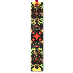 Intense Floral Refined Art Print Large Bookmark by dflcprints