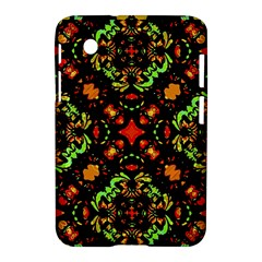 Intense Floral Refined Art Print Samsung Galaxy Tab 2 (7 ) P3100 Hardshell Case  by dflcprints