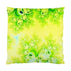 Sunny Spring Frost Fractal Cushion Case (two Sided)  by Artist4God