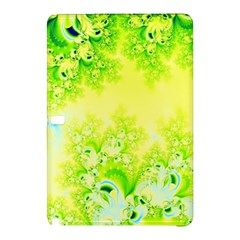 Sunny Spring Frost Fractal Samsung Galaxy Tab Pro 12 2 Hardshell Case by Artist4God