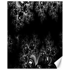 Midnight Frost Fractal Canvas 16  X 20  (unframed) by Artist4God