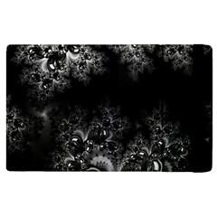 Midnight Frost Fractal Apple Ipad 2 Flip Case