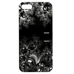 Midnight Frost Fractal Apple Iphone 5 Hardshell Case With Stand by Artist4God