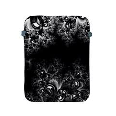 Midnight Frost Fractal Apple Ipad Protective Sleeve by Artist4God