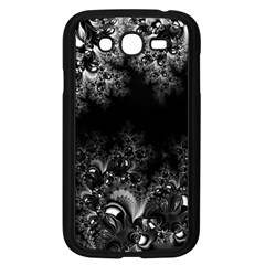 Midnight Frost Fractal Samsung Galaxy Grand Duos I9082 Case (black) by Artist4God