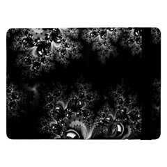 Midnight Frost Fractal Samsung Galaxy Tab Pro 12 2  Flip Case by Artist4God