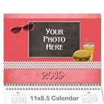 2015 Our Backyard Party Calendar - Wall Calendar 11  x 8.5  (12-Months)