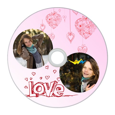 Love By Ki Ki   Cd Wall Clock   0zedlyauinng   Www Artscow Com Front