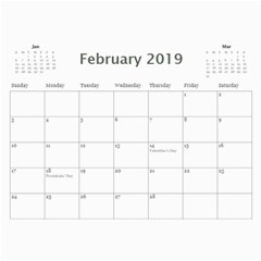2015 Sweetie Calendar By Lisa Minor   Wall Calendar 11  X 8 5  (12 Months)   Bxwkzh22runb   Www Artscow Com Feb 2015