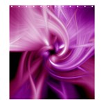 Pink Twist Shower Curtain 66  x 72  (Large)