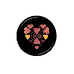 Love Collage Golf Ball Marker 10 Pack (for Hat Clip) by whitemagnolia