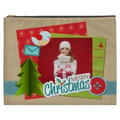 Xmas By Xmas   Cosmetic Bag (xxxl)   Mjfjj6rgtfvh   Www Artscow Com Front