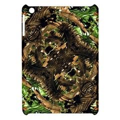 Artificial Tribal Jungle Print Apple Ipad Mini Hardshell Case by dflcprints