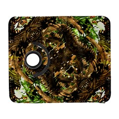 Artificial Tribal Jungle Print Samsung Galaxy S  Iii Flip 360 Case by dflcprints