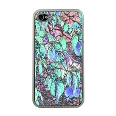 Colored Pencil Tree Leaves Drawing Apple Iphone 4 Case (clear) by LokisStuffnMore